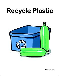 Plastics recycling chart numbers bottles containers The